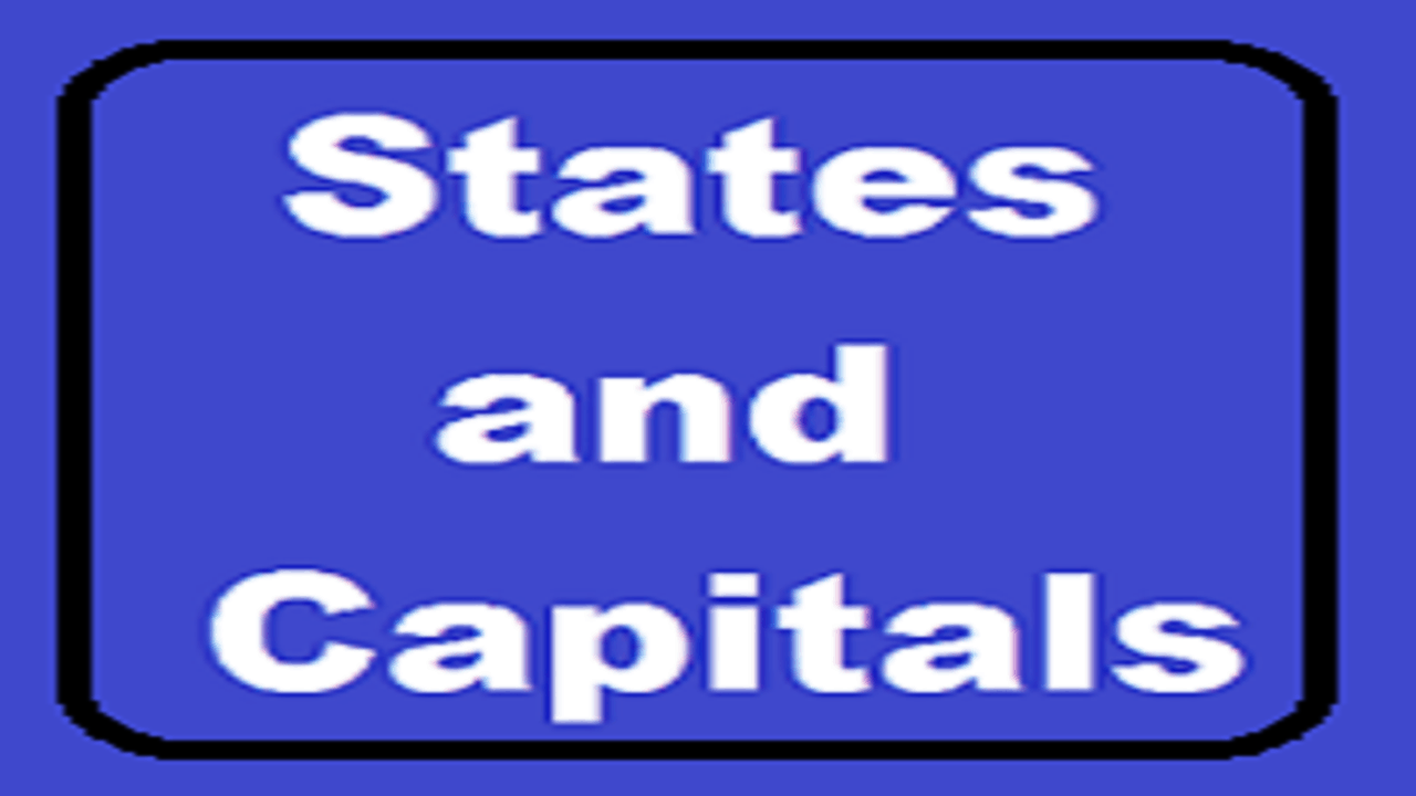All States and Capitals